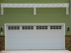 recidential garage door